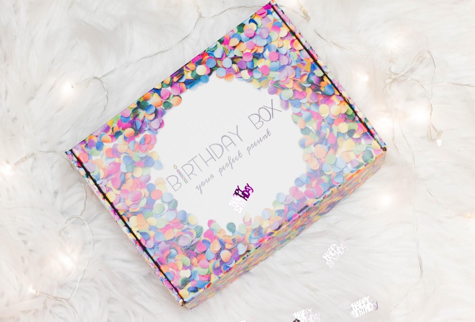 Niewiarygodnie Birthday Box - prezent idealny, czyli pudełko urodzinowe - Czary BT86