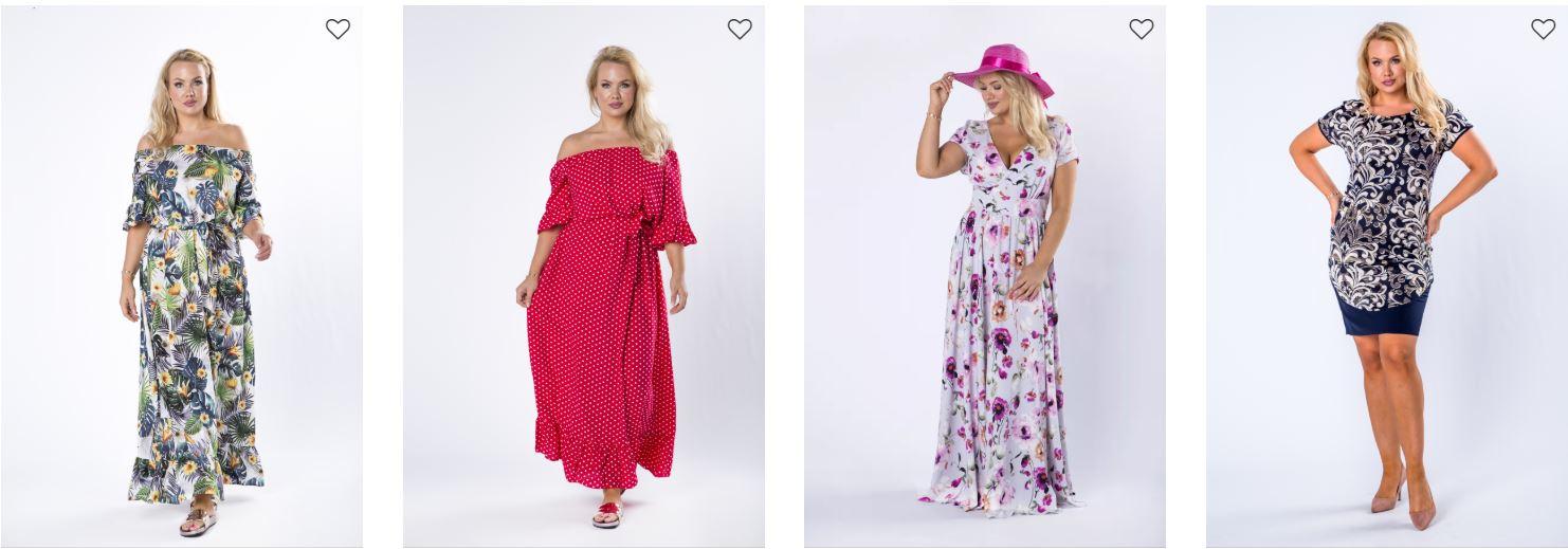Sukienki dla puszystych