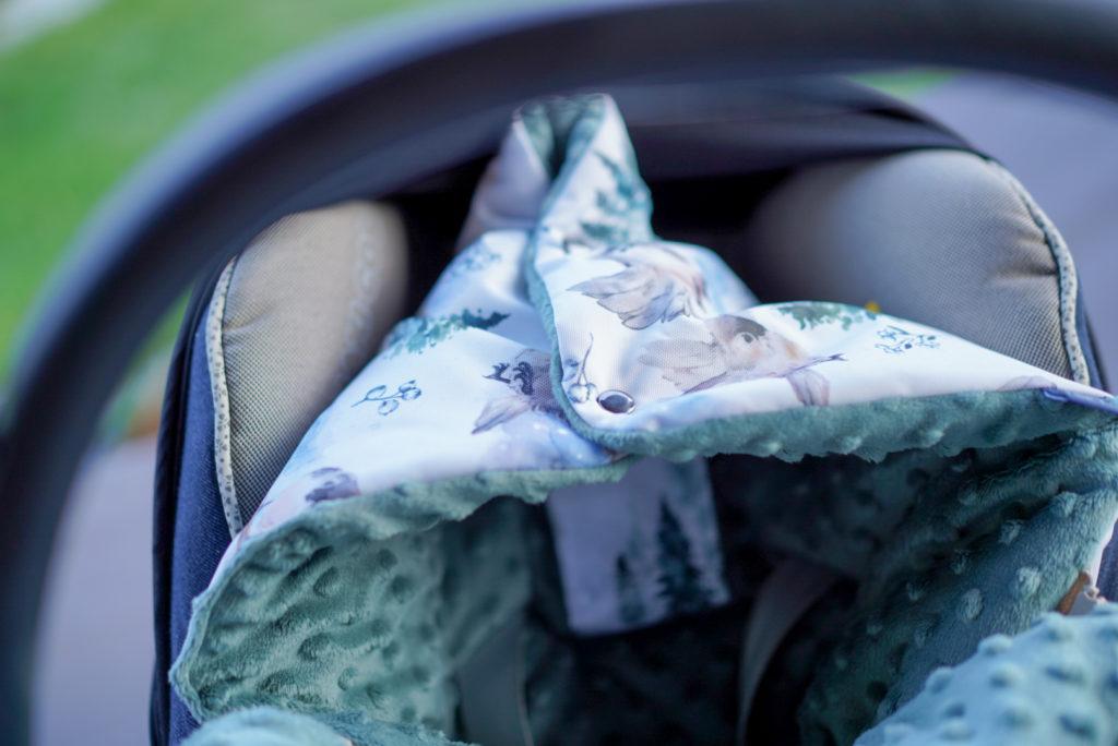 Śpiworek zimowy dla niemowlaka